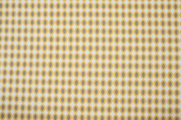Large Ovals – Yellow, Grey, Ecru